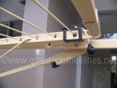 Austral addaline 35 clothesline with gravity catches and line tension lock